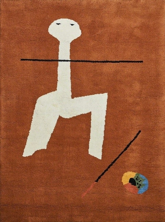 "After Joan Miró, ""Circus"", 1970s Wall-hanging tapestry,Wool Modern Masters Tapestries"