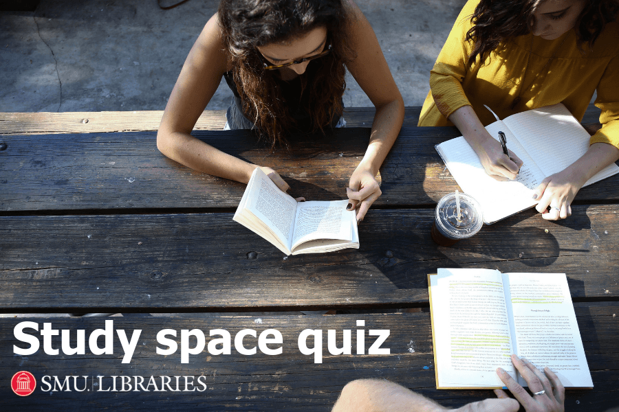 Fondren Library study space quiz