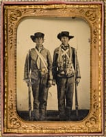 [Private Emzy Taylor and Private G. M. Taylor, Brothers, Confederate States Army], ca. 1862.