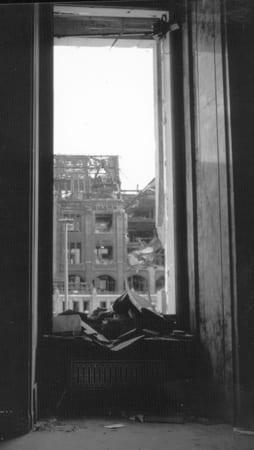 The Hitler Door, Reich Chancellery, Berlin, 1945