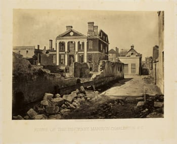Ruins of the Pinckney Mansion, Charleston, S.C.
