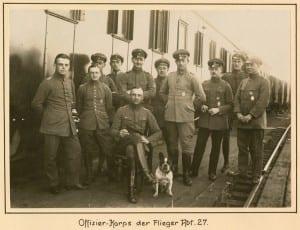 Offizier-Korps der Flieger Abt. 27