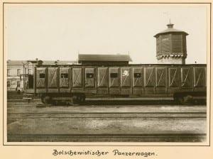Bolschewistischer Panzerwagen
