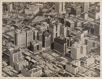Mid-Town Business District - Dallas, Tex. (unlabeled), March 9, 1936