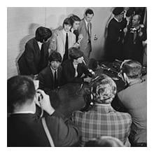 [Beatles Press Conference, Dallas, 1964, No. 02], DeGolyer Library, SMU