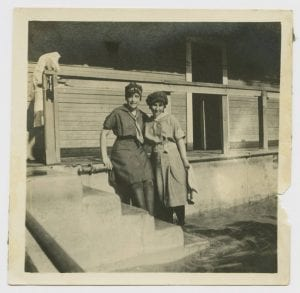 [Two Women in Bathing Costumes, Houston Heights Natatorium], 1907, DeGolyer Library, SMU.