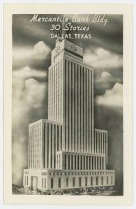 Mercantile Bank Bldg., ca. 1944, DeGolyer Library, SMU.