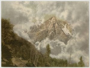 Mount of the Holy Cross in the Clouds, Colorado, by William Henry Jackson, ca. 1898-1906, DeGolyer Library, SMU.