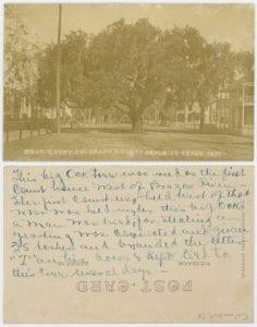 County, Republic [of] Texas, 1837, DeGolyer Library, SMU.