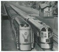 [Chicago, Burlington & Quincy, West Hinsdale Depot, Hinsdale, Illinois], ca. 1930s, DeGolyer Library, SMU.