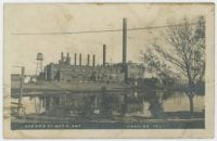 Lake Eyrie Power Plant, ca. 1908-1910, George W. Cook Dallas/Texas Image Collection, DeGolyer Library, SMU