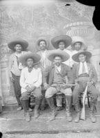 [Refugio Sanchez, Zapatistas Leader in Tepoztlan, Morelos], ca. 1914, by Cruz Sanchez, DeGolyer Library, SMU