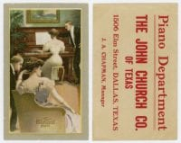 The Harvard Piano, The John Church Company of Texas, ca. 1870s-1910s, DeGolyer Library, SMU.