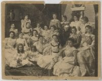[Group Portrait of Standard Club Members], ca. 1900, DeGolyer Library, SMU.