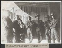 Hallett, Morris, Catherine [sic] Stinson, Lt Sutton, Lt Morrow, Lt Bowen and Lt Taliaferro., ca. 1914, DeGolyer Library, SMU