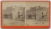 Maverick Hotel, ca. 1885-1889, from the San Antonio View Co.