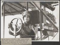 Miss Julia Clark, Aviatress, ca. 1911, DeGolyer Library, SMU