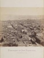 Panorama of San Francisco from California St. Hill. [Panel 6], 1877, by Eadweard Muybridge