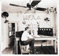 [WFAA Radio Original Control Panel], ca. 1922