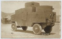Armored Motor Truck used for Pershing's Punitive Expedition, ca. 1916, by Walter Horne