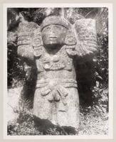 [Sculpture, Mayan Ruins, Chichen Itza], 1938, by Octavio Medellin