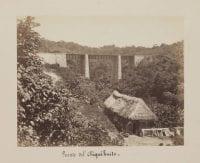 Puente del Chiquihuite. (Chiquihuite Bridge.), ca. 1875-1890, by Abel Briquet