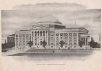 Dallas Hall--Administration Building, from page 15 of The Rotunda, 1916, DeGolyer Library, SMU.