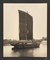 [Chinese Sampan], ca. 1937, by Sir Victor Sassoon