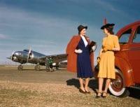 Lockheed, Delta Air Lines, Planes & Models, 1940, by Robert Yarnall Richie