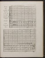 Page 1 from Symphonies, no. 9, op. 125, D minor [First edition] by Ludwig von Beethoven