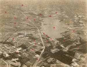 [White Rock Lake Aerial Overview (labeled)]