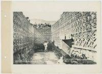 Room of the Mosaics, Mitla Ruins. [No. 650], 1904, DeGolyer Library, SMU