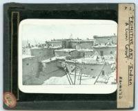 A Zuni Court, ca. 1900-1920, DeGolyer Library, SMU.