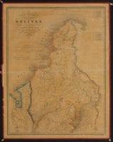Carta corografica del Estado de Bolivar..., 1865, DeGolyer Library, SMU.