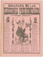Calavera de las elecciones presidenciales, 1919, illustrated by Jose Guadalupe Posada