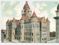 Court House, Dallas, Tex., ca. 1908, DeGolyer Library, SMU.