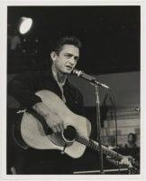 [Johnny Cash on Stage], July 3, 1981, DeGolyer Library, SMU.