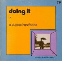 doing it or a student handbook, 1974, DeGolyer Library, SMU.