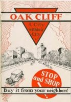 Oak Cliff : a city within a city, ca. 1920s [?], DeGolyer Library, SMU