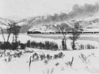 Spanish Fork Canyon- D&RGW Coal Train, five degrees below zero, December 1951, DeGolyer Library, SMU.