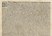 Bifolium of indulgences, 1498