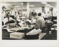 [Dallas Times Herald Reporters at Work] by Andy Hanson, ca. 1970s-1980s, DeGolyer Library, SMU.