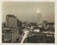 [Downtown Dallas at Night], ca. 1936-1955, DeGolyer Library, SMU.