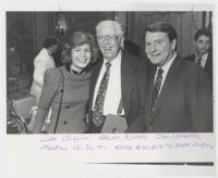 Lee Cullum, Ralph Rogers, Jim Lehrer. KERA Tribute to Ralph Rogers, October 30, 1991, DeGolyer Library, SMU.