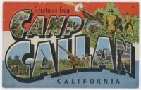 Greetings from Camp Callan, California, ca. 1943, DeGolyer Library, SMU.