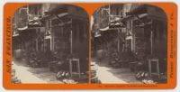 Chinese Market Places - Sacramento Street., ca. 1864-1869, DeGolyer Library, SMU.