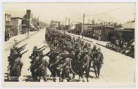 U.S. Infantry in Parade, El Paso, Tex., ca. 1910-1920, DeGolyer Library, SMU.