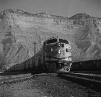 Cab ride on Calif. Zephyr to Helper, Utah. [No. 6], March 1966, DeGolyer Library, SMU.