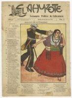 El Hijo Ahuizote Semanario Político de Caricaturas, July 20, 1912, DeGolyer Library, SMU.