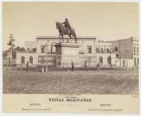 Estatua de Carlos IV [No. 2168], ca. 1880-1899, DeGolyer Library, SMU.